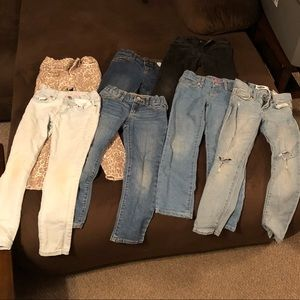 Bundle of Girls Jeans